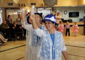 מופע ריקודים סלוניים בנאות השרון (12)