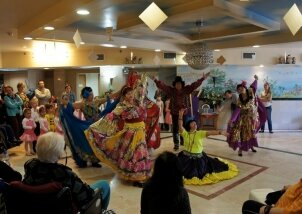 מופע ריקודים סלוניים בנאות השרון (8)